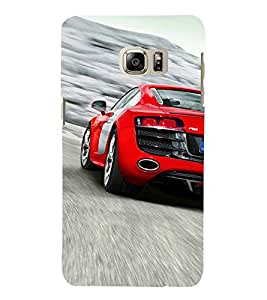 Extreme Car 3D Hard Polycarbonate Designer Back Case Cover for Samsung Galaxy Note 7 : Samsung Galaxy Note 7 N930G : Samsung Galaxy Note 7 Duos