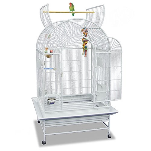 Montana Cages ® | Vogelkäfig, Sittichkäfig, Käfig für Finken, Kanarien und Sittiche Miami - Platinum Voliere XXL der Spitzenklasse!