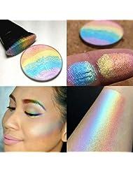 Msmask Contour surligneur Shimmer Kit Maquillage de visage fard à joues fard à joues en poudre New Good Beauté