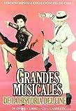 20 MUSICAL DVD DEUTSCH TON Mississippi-Melodie + Der Zauberer von Oz + Vorhang auf! 1955 + Gigi + Seidenstrümpfe + Das ist New York + Urlaub in Hollywood (Kalifornische Nächte, Zu leicht verliebt) + Tänzer vom Broadway + My Fair Lady + Du sollst mein Glücksstern sein + Ein Amerikaner in Paris + VICTOR / VICTORIA + Heimweh nach St. Louis + BRIGADOON + Tolle Nächte in Las Vegas + Osterparade (Osterspaziergang) + Der Pirat + 42. Strasse + Eine Braut für sieben Brüder + Jailhouse Rock - Rhythmus hinter Gittern