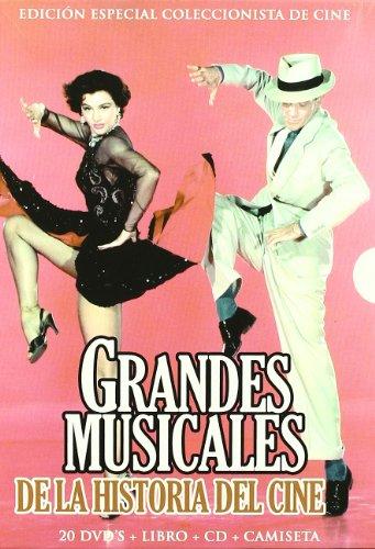 20 MUSICAL DVD DEUTSCH TON Mississippi-Melodie + Der Zauberer von Oz + Vorhang auf! 1955 + Gigi + Seidenstrümpfe + Das ist New York + Urlaub in Hollywood (Kalifornische Nächte, Zu leicht verliebt) + Tänzer vom Broadway + My Fair Lady + Du sollst mein Glücksstern sein + Ein Amerikaner in Paris + VICTOR / VICTORIA + Heimweh nach St. Louis + BRIGADOON + Tolle Nächte in Las Vegas + Osterparade (Osterspaziergang) + Der Pirat + 42. Strasse + Eine Braut für sieben Brüder + Jailhouse Rock - Rhythmus hinter Gittern (Eine Für Brüder Braut Sieben)