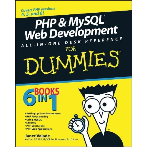PHP and MySQL Web Development All-in-one Desk Reference For Dummies (For Dummies (Computers)) (Paperback) - Common