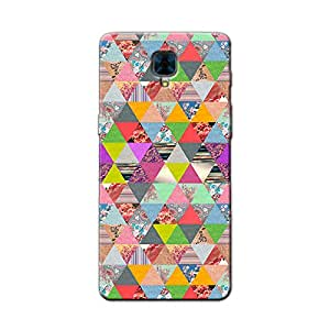 FLORAL AZTEC BACK COVER FOR ONE PLUS 3