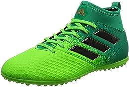 Adidas Scarpe da Calcio Jr Ace 17.3 Primemesh Turf Solare Green-Core Black