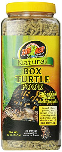Zoo Med Natural Box Turtle Food  567g, Futterpellets für Dosenschildkröten