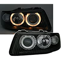 AD Tuning GmbH & Co.Juego de Faros KG 960354 Angel Eyes, en Cristal Transparente Negro