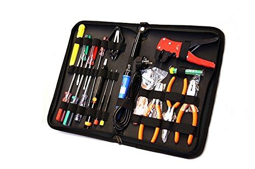 Preisvergleich Produktbild Werkzeug Set Computer PC Service Kit Toolkit Werkzeugtasche 18 tlg ZD906