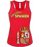 FRAUEN FUSSBALL EM 2013 - SPANIEN FANSHIRT 3207(TT-F-R) Gr. L