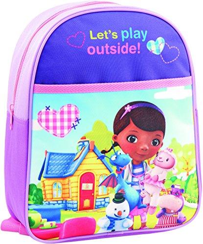 Joy Toy 116106 - Disney Doc McStuffins Rucksack, 24 x 10 x 31 cm