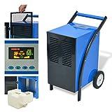 Déshumidificateur en Acier 50L /24h 860 W et Poids net : 33 kg Bleu et noir