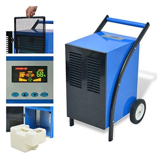Zora Walter deumidificatore 50L/24H 860W compressore rotativo Ventilatore assiale con Un Filtro d' Aria Estraibile