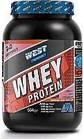 West Nutrition Whey Protein Tozu 504 Gr 14 Servis Çilek Aromalı