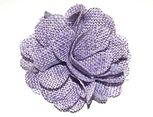Lavendel Blumen Bulk (7,6cm Jute Blumen Eltern lavendel)
