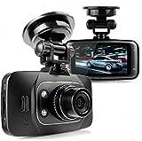 Huston Lowell® Boîte noire 2.7inches 1080p HD Caméra embarquée Enregistreur DVR (Digital Video recorder) Vidéo Vision Nocturne Pour Voiture Conduite- Cam G-sensor Hdmi Gs8000l Grand angle de 120 degrés Détection de mouvement