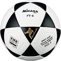 Mikasa FT5 Balón de fútbol, Unisex, Blanco/Negro, 5