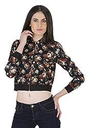 Kazo Womens Blouson Jacket (115672BLACKCS)