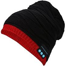 VGEBY 4 Couleurs en Plein Air sans Fil Bluetooth 3.0 Casque Casque Chapeau  Musique Sport Courir 48cea2337c8