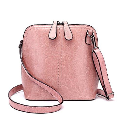 Ms. Umhängetasche Handtasche Messenger-Schalentasche pink