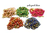 #6: Goelx Pearl chain colorful combo in different colors 1 meter each color