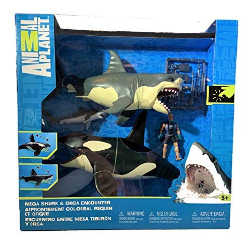 Killer Whale Playset - Animal Planet by Animal Ocean & Prehistoric Discovery ()