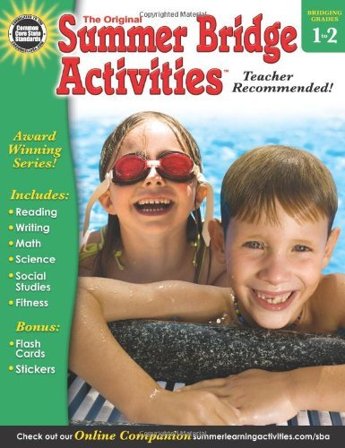 Summer Bridge Activities(r), Grades 1 - 2 by Summer Bridge Activities (Compiler, Editor), Rainbow Bridge Publishing (Compiler) (2-Jan-2013) Paperback