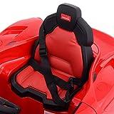 Goplus 2.4G La Ferrari Rot Ride-on Kinder Elektrofahrzeug Kinderfahrzeug Elektroauto - 7