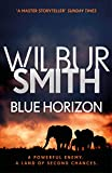 Front cover for the book Blue Horizon by Wilbur Smith