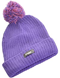 Wintery Ladies Womens Girls 3M Thinsulate 40gram Ribbed Lined Bobble Hat, 6 Colours