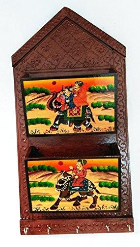 Royals Schlüssel Magazin Halter Geschenk Home|Home Decoratives Handmade|Antique Artikel -