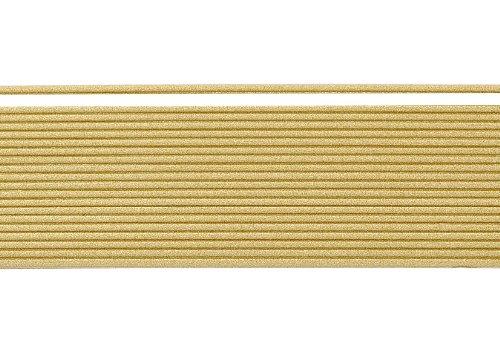 Wachsstreifen / Verzierwachs 'Bronzegold (matt)' (20 Stück / 20 cm x 1 mm) TOP QUALITÄT