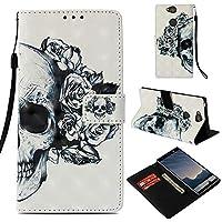 Everainy Sony Xperia XA2 Plus Hülle Silikon PU Leder Flip Wallet Case Gummi Schutzhülle Kartenfach Magnet für... preisvergleich bei billige-tabletten.eu