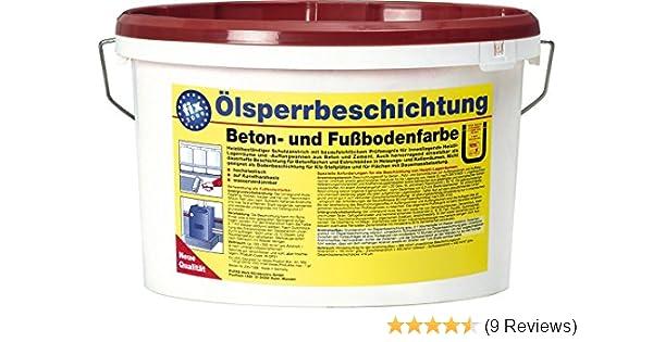 Fußbodenfarbe ~ Pufas Ölsperrbeschichtung betonfarbe fußbodenfarbe 5l rotbraun ca