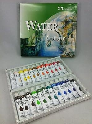 24er Aquarellfarbenset 12ml von malgut24 auf TapetenShop