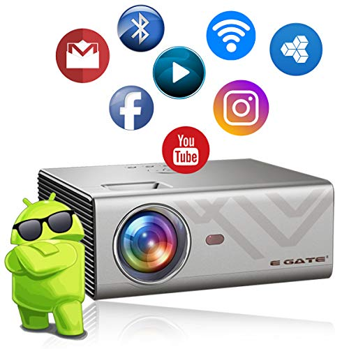 5. EGATE K9 Android LED 720p 4D Digital HD Projector