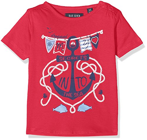 Blue Seven Baby-Mädchen Mini Md T-Shirt, Rosa (Pink ORIG 423), 62