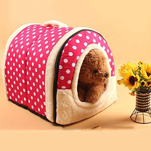 Marysa Abnehmbare zusammenklappbaren Weichen pet - Zelt/Zimmer / House Bed zwinger hütte Hund/welpe / Katzen/Kitty