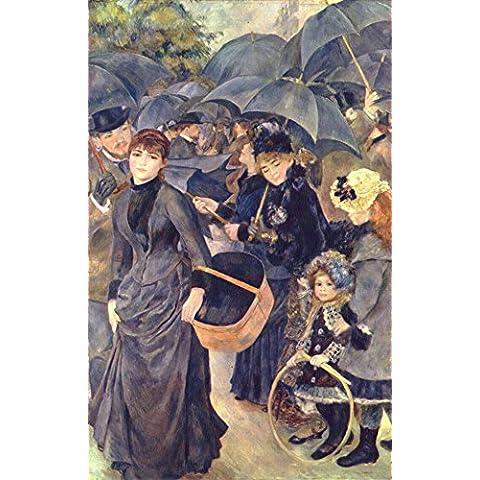 Pierre-Auguste Renoir–Gli ombrelli:. Stampa Fine Art/Poster. Formato A1
