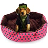 Dog Bed Warm Soft Basket Cushio Pet Beds for Cats and Small Dogs Puppy