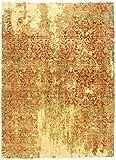 Nain Trading Arijana Design 415x301 Orientteppich Teppich Gelb/Orange Handgeknüpft Afghanistan Design Teppich Modern