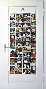 Picture Pockets Mega (Size AA) Hanging Photo Gallery - 80 photos in 40 pockets (reversible) Flat Pack