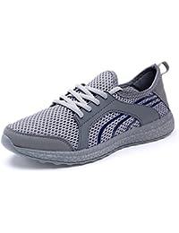 Sneakers grigie per uomo Qansi La Venta En Línea En Venta Barato Real La Venta Con Tarjeta De Crédito Alta Calidad Barata PHoCU