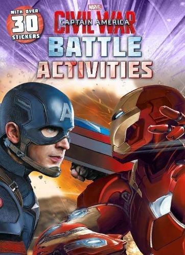 Marvel Captain America Civil War Battle Activity Book