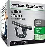 Rameder Komplettsatz, Anhängerkupplung starr + 13pol Elektrik für BMW 3 Touring (113178-04088-1)