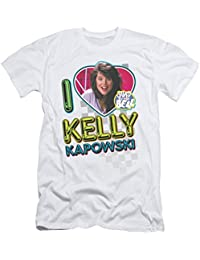 Saved by The Bell NBC TV Series I Love Kelly Adult T-Shirt Tee