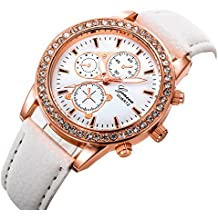 Relojes Pulsera Mujer, Xinan Relojes de Pulsera de Cuarzo de lujo de Banda analógica de