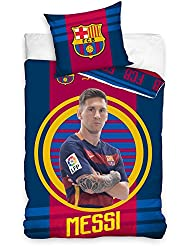 FC Barcelona Messi Target Single Duvet Cover Set by Barcelona F.C.