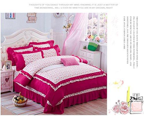 Preisvergleich Produktbild Doppelbett Rock Spitze Bettdecke Bett Vier Stücke , 4 , 1.5M Bed,4,1.5m bed