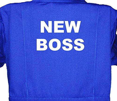 New Boss Little Helper Baby, Kinder, Kinder, Overall, Overall, Größen 1–7Jahre, Blau