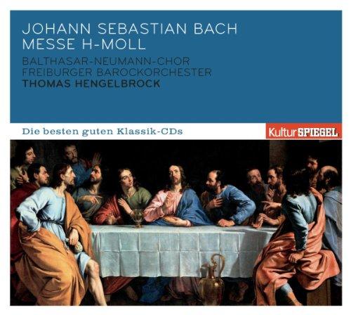 Preisvergleich Produktbild KulturSPIEGEL - Die besten guten Klassik-CDs: Johann Sebastian Bach - Messe h-Moll