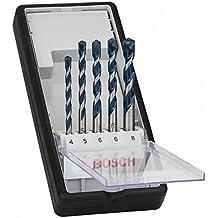 Bosch 2 608 588 165  - Juego de 5 brocas para hormigón Robust Line CYL-5 - 4; 5; 6; 6; 8 mm (pack de 5)